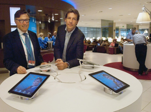 KLM Brings Apple iPads to Airport Lounges