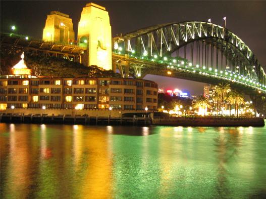 The Park Hyatt Hotel in Sydney