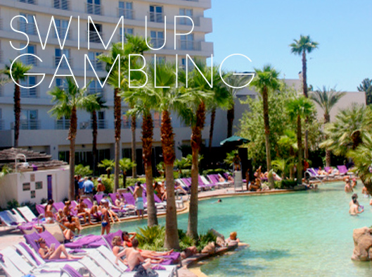 Vegas, Where Swim-Up Gambling Is A Right