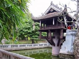 One Pillar Pagoda with Explore Vietnam Travel 1