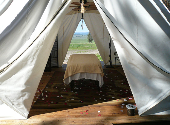 The Spa - Paws Up Resort Montana