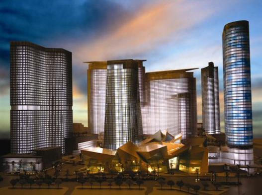 Las Vegas City Center Preparing to Open