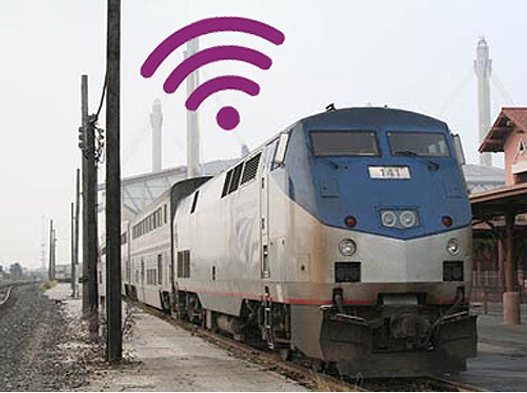 Amtrak Will Have Free WiFi Flowing Through Their Trains By March