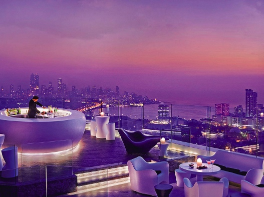 The Best Rooftop Bars in the World: Aer at the Four Seasons Mumbai